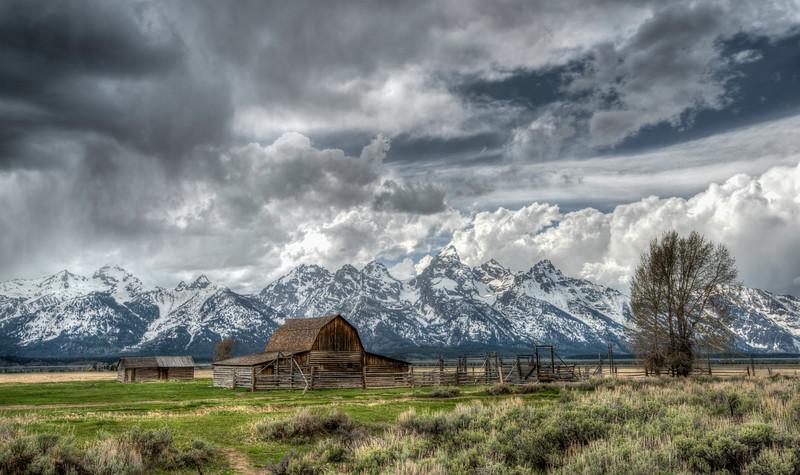 Mormon Barn, Grand Teton National Park, Wyoming