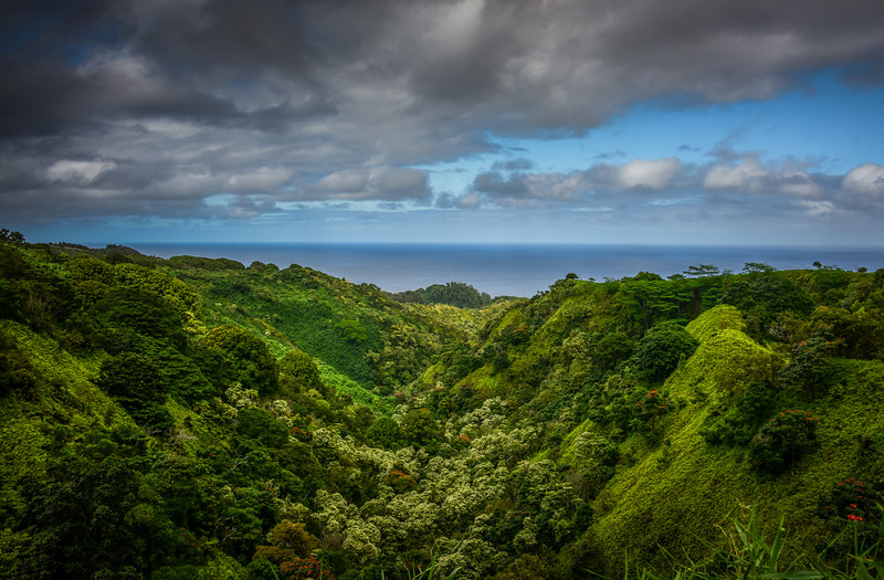 Scenic View of North Shore of Maui, Hawaii