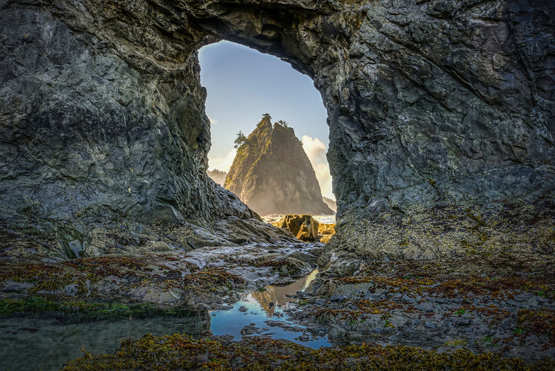 Hole in the Wall, Rialto Beach, Olympic National Park
