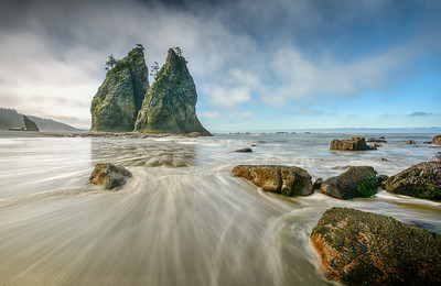 Rialto Beach Stacks, Olympic National Park