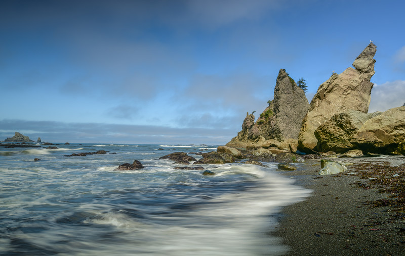 Seascape, Rialto Beach, Olympic National Park