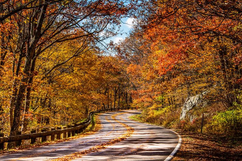 Autumn on Skyline Drive, Shenandoah National Park