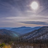 Winter Scene over Hazel Mountain, Shenandoah National Park