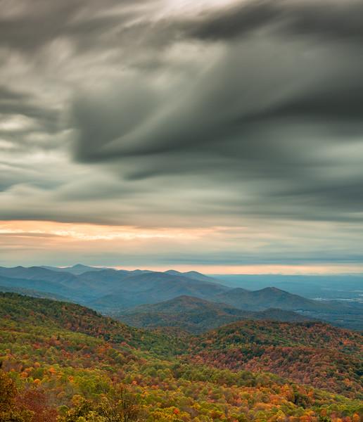 Autumn in Shenandoah National Park
