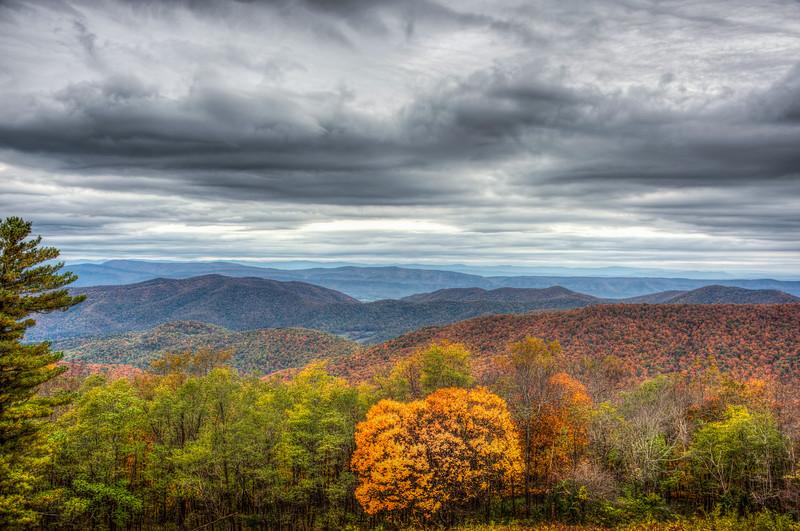 Autumn in Shenandoah National Park, Virginia