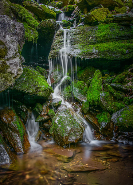 Unnamed Waterfall, Shenandoah National Park, Virginia