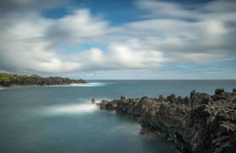 Seascape in Wainapanapa State Park, Maui, Hawaii