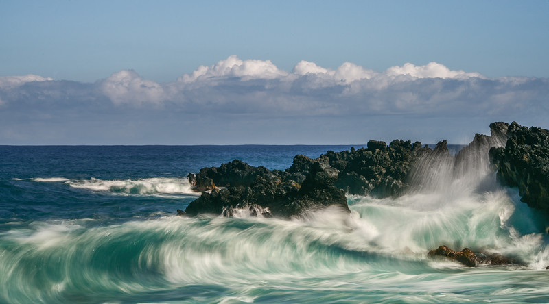 Wave Seascape, Maui, Hawaii