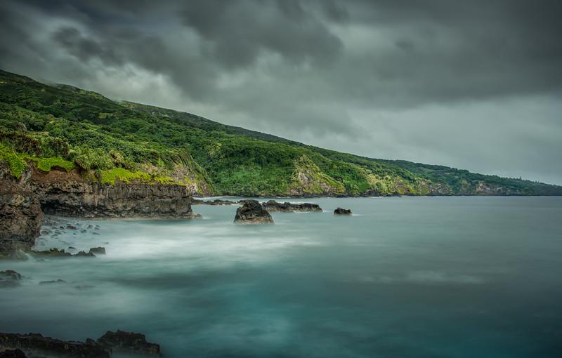 Seascape Scene, South Shore of Maui, Hawaii