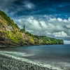 Seascape Scene, East Shore of Maui, Hawaii