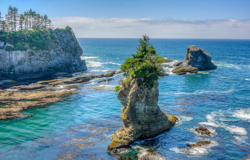 Cape Flattery, Olympic Coast, Washington State