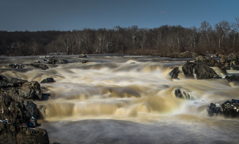 Great Falls in Flood Stage, Great Falls, Virginia