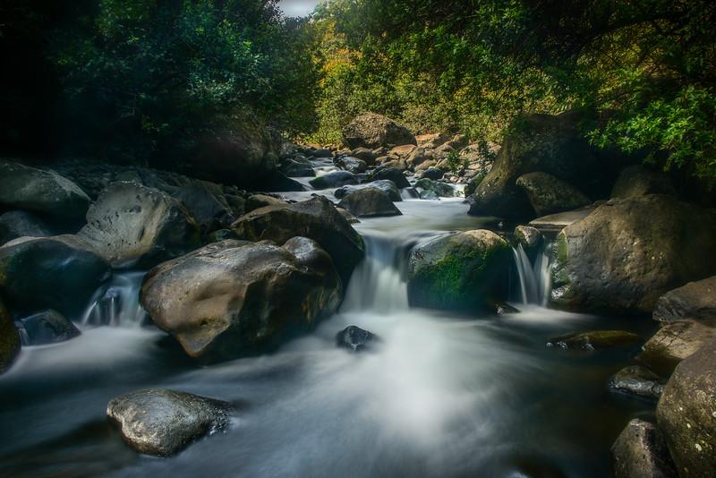 Ioa Stream Waterfall, Maui, Hawaii