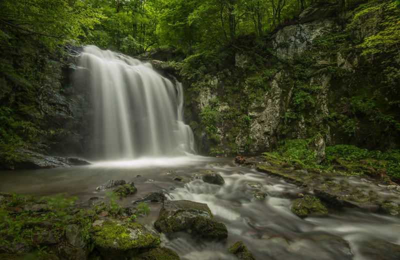 Naked Creek Waterfall, Shenandoah National Park
