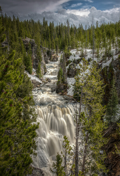 Kepler Cascade, Yellowstone National Park, Wyoming