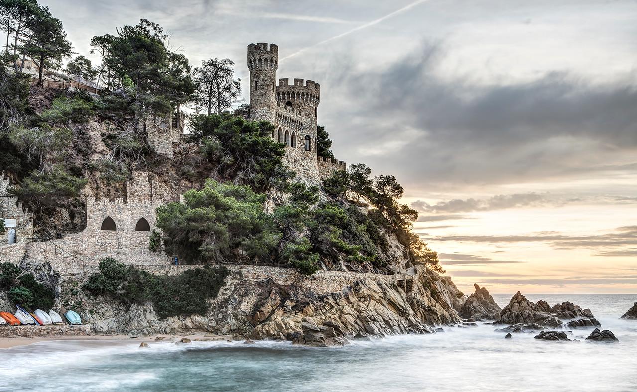 D'en Plaja Castle (Lloret de Mar, Catalonia)