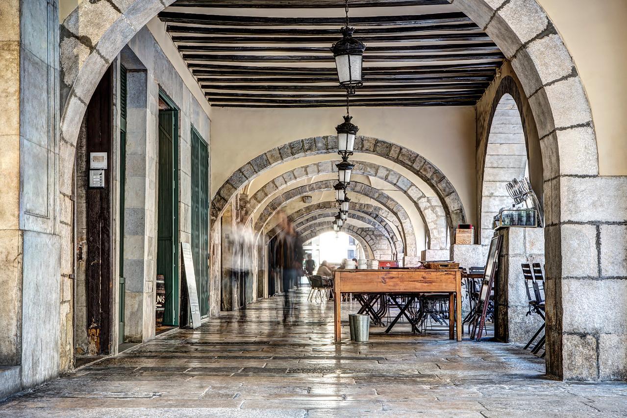 Plaça del Vi (Girona, Catalonia)