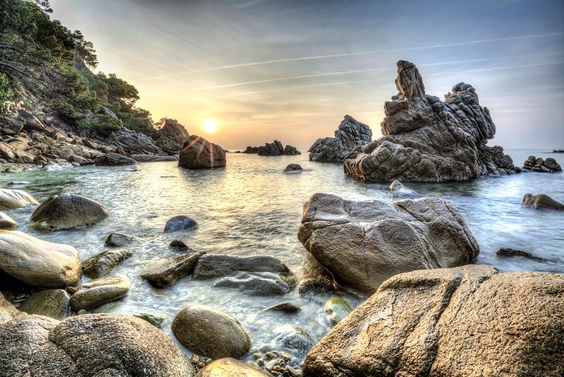 Cala dels Frares (LLoret de Mar, Catalonia)