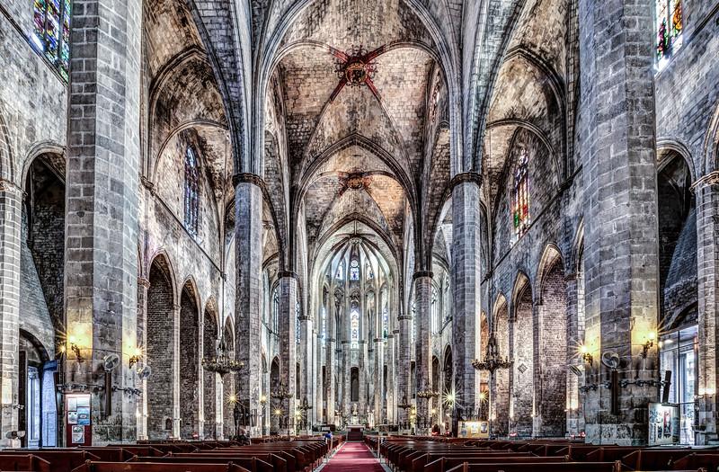 Santa Maria del Mar (Barcelona, Catalonia)