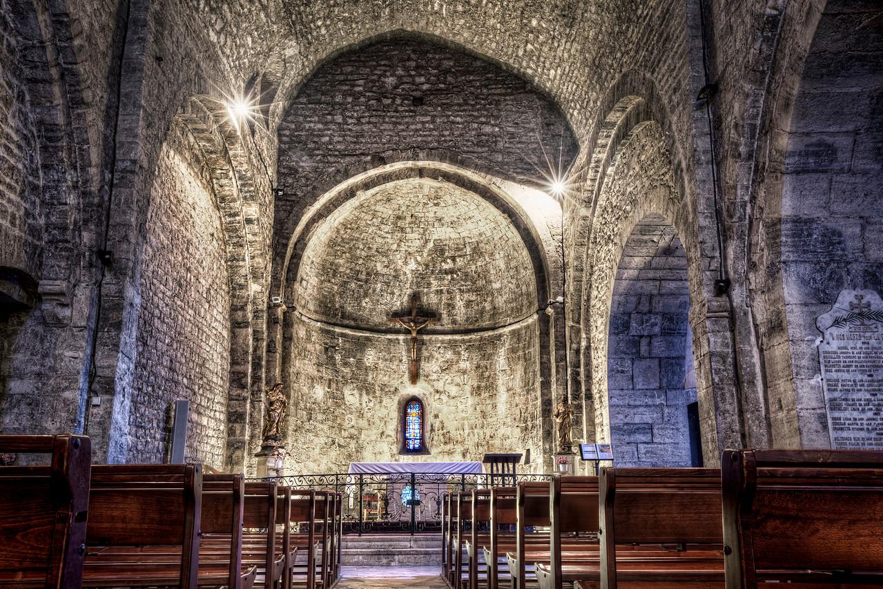 Le Castellet Medieval Church (France)