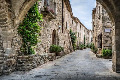 Vilanova Street (Monells, Catalonia)