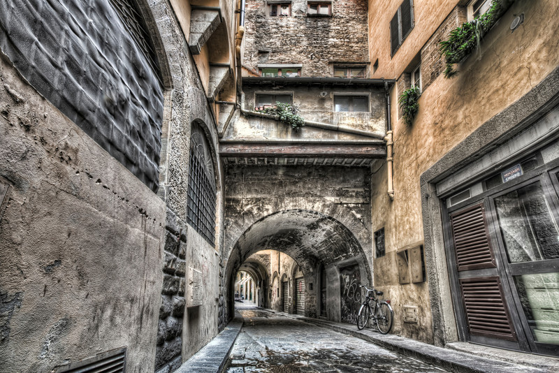 Narrow Streets in Florence