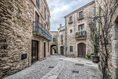 Pals, Carrer Major (Catalonia)