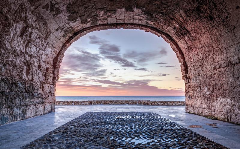 A Window to The Mediterranean Sea, Altafulla (Catalonia)