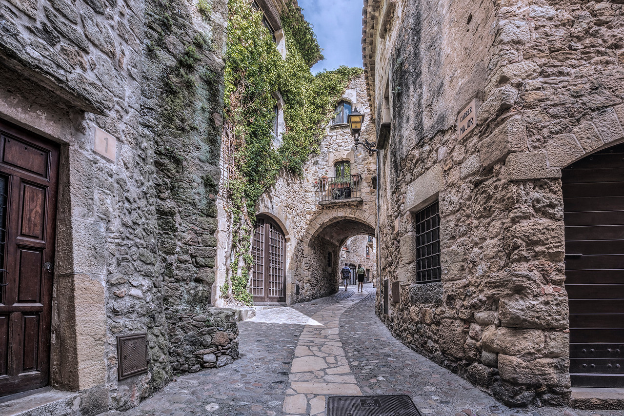 Medieval Village of Pals (Catalonia)