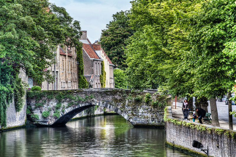 Meestraat Bridge in Bruges