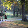 Walking at Prairie Grove Battlefield Park