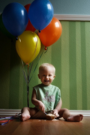 Munchkin's First Birthday