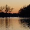 lake fayetteville sunset4
