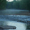 Morning mist on Lollers creek