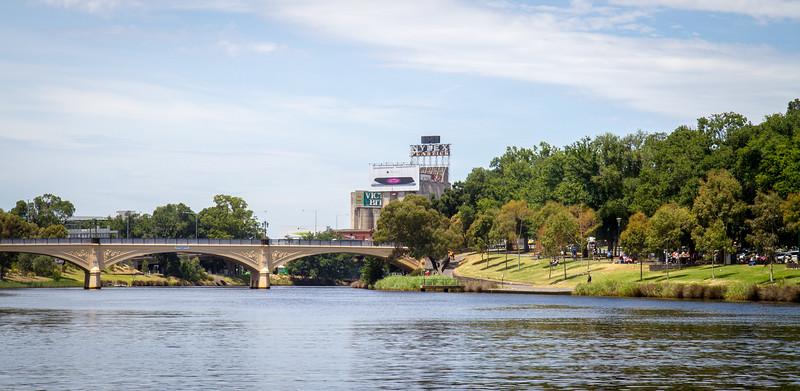 Morrell Bridge Yarra River Melbourne