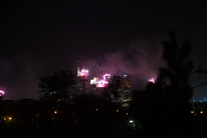 2015 New Years Fireworks Melbourne