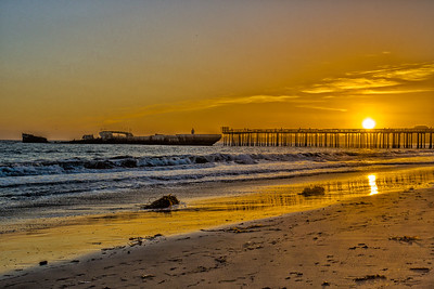 Sunset at Seacliff Pier