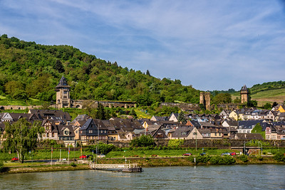 Town of Oberwesel, Germany