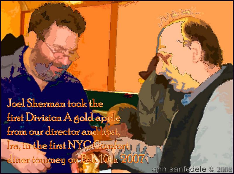 Ira Freehof and Joel Sherman