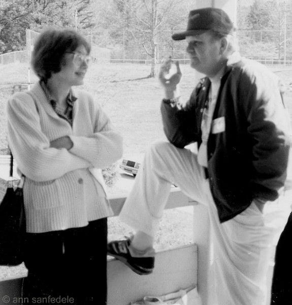 Very soft focus snap shot of Jean Carol and Gordon Shapiro at the 1989 Smoky Mountain tournament in Gatlinberg, TN. Only shot I could find that I took of her.
