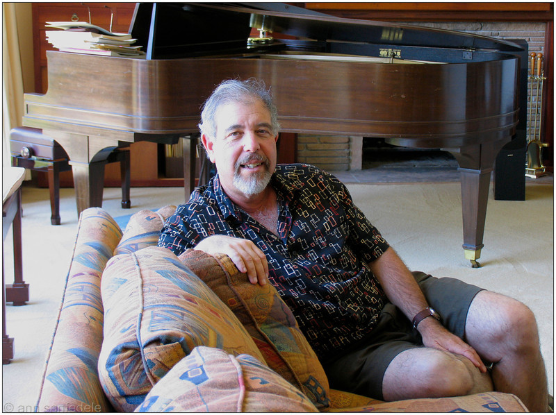 Charles Goldstein, at home - August 2005