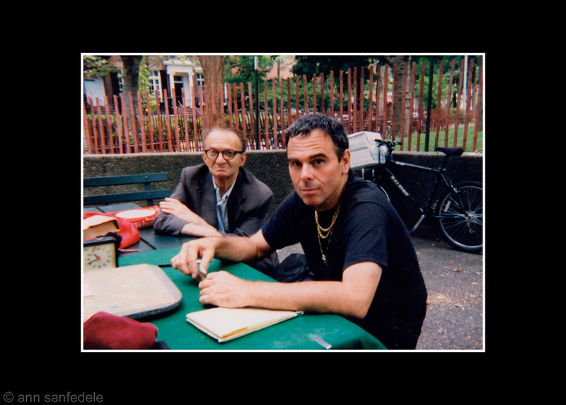 Richie Lund in Washington Square Park