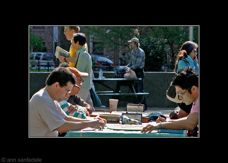 The Park Scene  - Peter Barkman and Brian Park