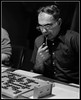 Al Weisman considers a play at the Game Room in 1979.