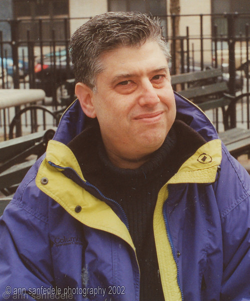 1990 National Scrabble Champion Bob Felt photographed in Tompkins Square Park in late autumn of 2002, just a month or two before he passed away.