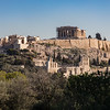 View of Acropolis from  Philopappou Hill