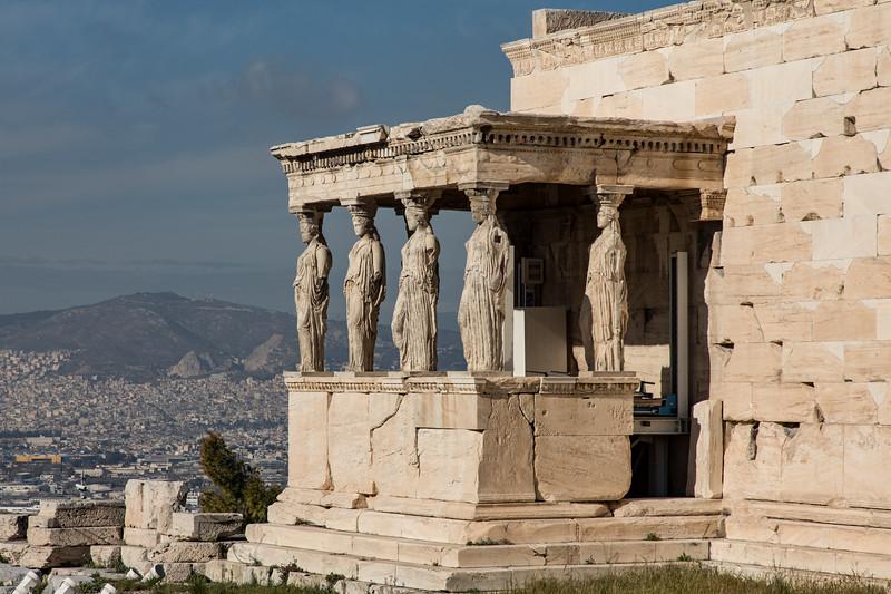 Porch of the Caryatids,  Erechtheion Temple, Acropolis