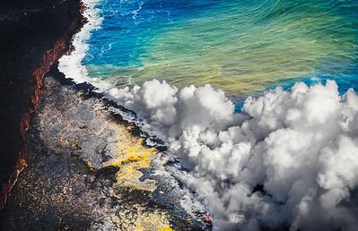 Kalapana Ocean Entry