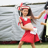 A young girl at the Tahitian Dance festival