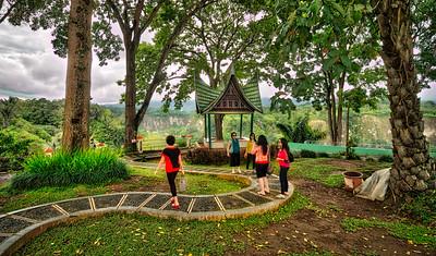 Visiting the Bukittinggi Zoo